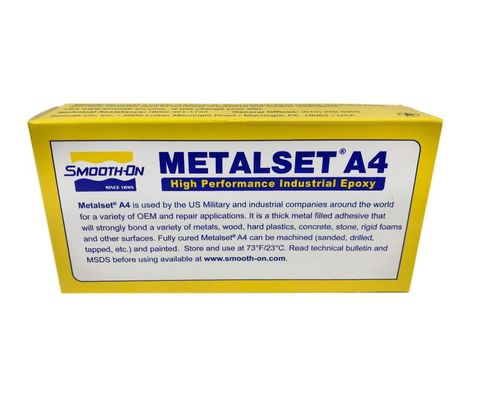 Smooth-On MetalSet - A4 Aluminum Filled Epoxy Resin