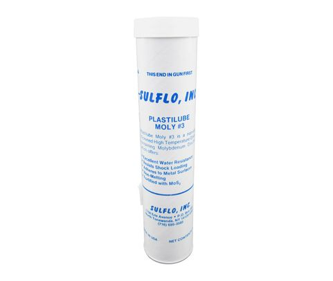 SULFO Plastilube Moly 3 High-Temperature Grease - 14 oz Cartridge