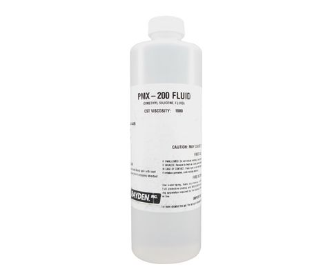 DOW® XIAMETER™ PMX-200 Clear 1000 cSt Silicone Fluid - Pint Bottle