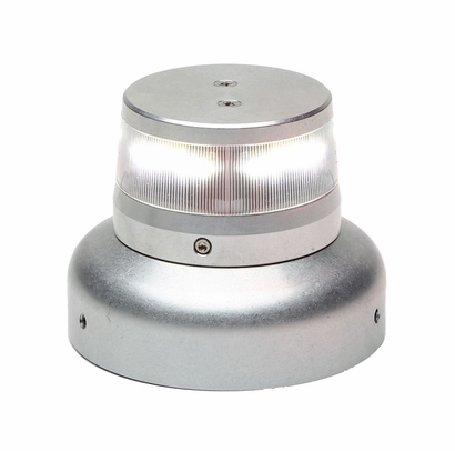 "WHELEN® 01-0772010-23 Model OR36W2WL Orion™ 360 White 28-Volt 3.75"" Base Lower Mount LED Anti-Collision Light Assembly"