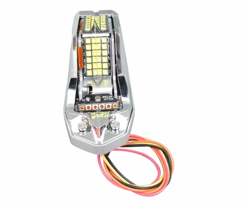WHELEN® 01-0790701-02 Model OR6501RE Orion™ Embedded Red 12-Volt Position Light/Anti-Collision Wingtip Light Assembly