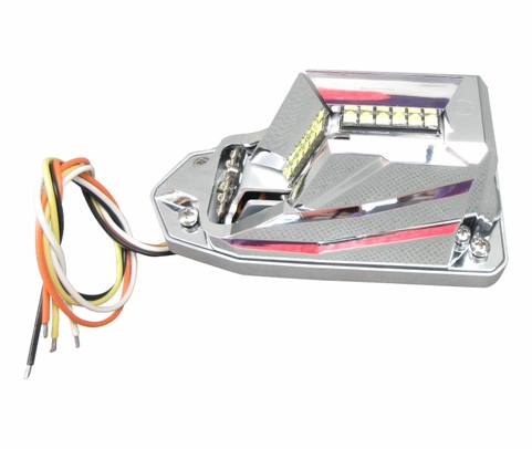 WHELEN® 01-0790701-12 Model OR6502RE Orion™ Embedded Red 28-Volt Position Light/Anti-Collision Wingtip Light Assembly