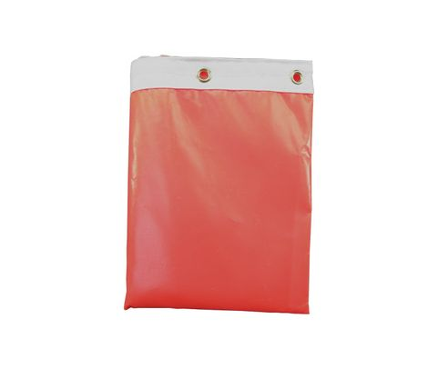 "Windcone Sales WC18V Orange Vinyl 18"" Throat Diameter x 96"" Length Windsock"