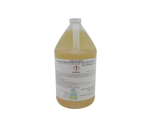 Zip Chem 011866 Calla 301A (Red) Aircraft Cleaning & Degreasing Compound - Gallon Can