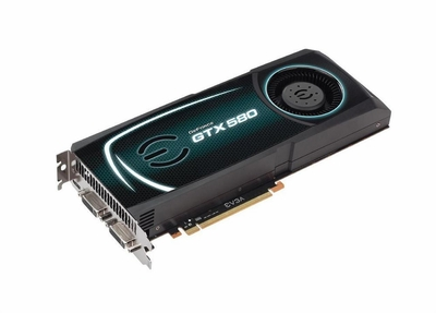 03G-P3-1584-KR EVGA GeForce GTX 580 3072MB GDDR5 384-Bit PCI Express 2.0 Dual DVI/ Mini HDMI Video Graphics Card