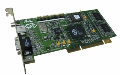 109-52300-00 ATI Rage Pro Tubo AGP Video Graphics Card and TV Tuner Card