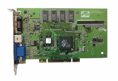 109-54100-00 ATI 3D Rage LT Pro 8MB PCI Video Graphics Card