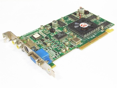 109-70700-01 ATI Radeon 64MB S-Video/ VGA/ AGP Video Graphics Card