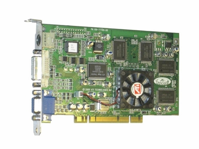 109-77700-00 ATI Apple Rage 6 32MB VGA/DVI/s-vid eo PCI Video Graphics Card 109