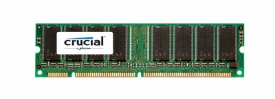 CT16LSDT3264AG-10EE3 Crucial 256MB PC100 100MHz non-ECC Unbuffered CL2 168-Pin DIMM Memory Module