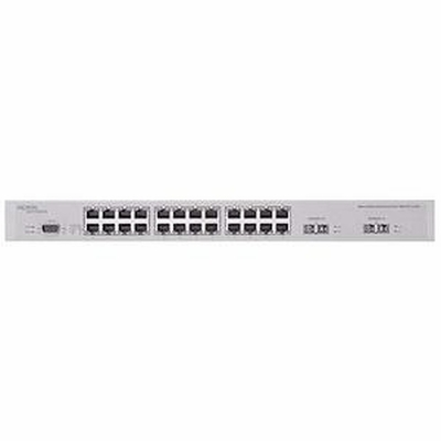 DJ1412E06 Nortel Ethernet Routing Switch 1612G with 12 SFP GBIC slots. Dual AC power supply. (IncludesAustralian power cord also used in Zealand and the PRC)