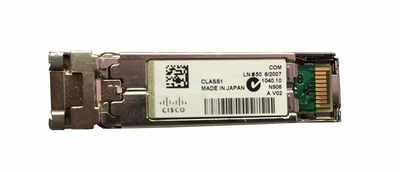 SFP-1GB-SX Cisco 1Gbps 1000Base-SX Multi-mode Fiber 550m 850nm Duplex LC Connector SFP Transceiver Module