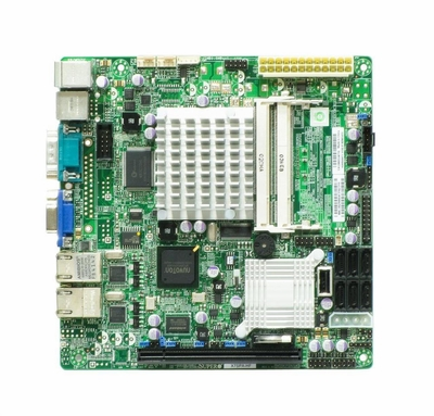 X7SPA-HF-B SuperMicro Server Motherboard Intel Chipset Pack Mini ITX 1 x Processors Support 4GB DDR2 SDRAM Maximum RAM Serial ATA/300 RAID Supported Controller Onboard Video