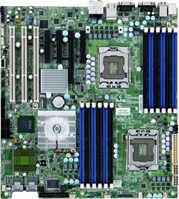 X8DA6 SuperMicro Intel 5520 Chipset Xeon 5600/ 5500 Series Processors Support Dual Socket LGA1366 Extended-ATX Workstation Motherboard