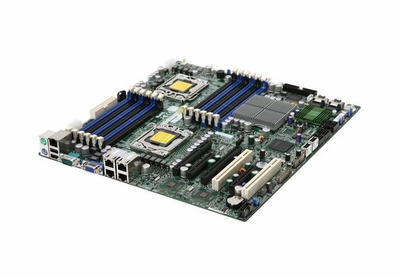 X8DT3-LN4F SuperMicro X8DT3-LN4F Server Motherboard Intel 5520 Chipset Socket B LGA-1366 Extended-ATX 2 x Processor Support 96GB DDR3 SDRAM Maximum RAM Floppy Controller, Serial Attached SCSI (SAS), Serial ATA/300 RAID Supported Controller Onboard Vi