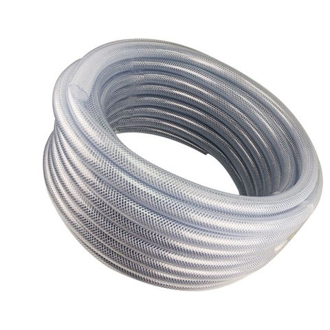 1/2 X 50' Clear Polybraided Tubing Pressure Washer Part