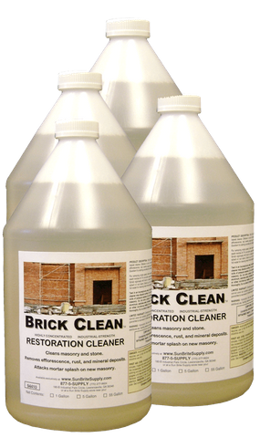 Brick Clean Case 4 X 1 Gallon