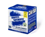 Praffiti Safe-Wipe 20-Pack pouches