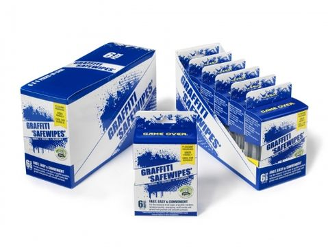 WBGR Graffiti Safe-Wipes Handy Pack
