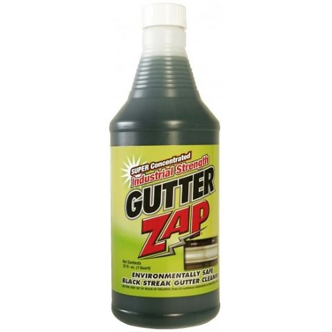 Gutter Zap 32oz Gutter Cleaning Chemicals from Sun Brite Supply