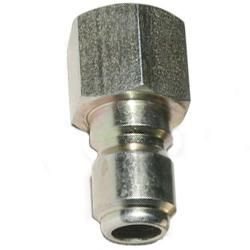Hansen Stainless Steel 1/4 Quick Connects Plug W/FPT Pressure Washer Part