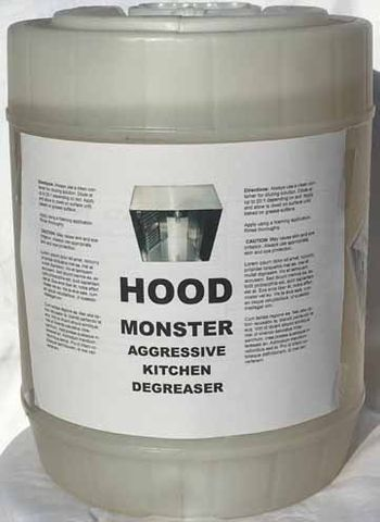 Hood monster 5 gallons