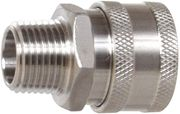 HPC Stainless Steel 3/8 Quick Connects Socket W/MPT Pressure Washer Part
