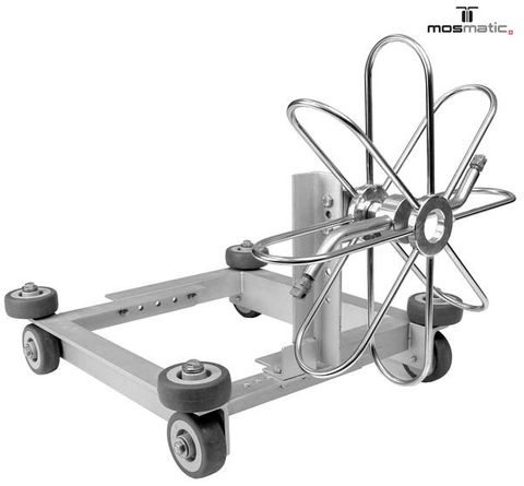 Mosmatic Duct Cleaner Cart For 20 And 24 Duct Spinners For Duct Cleaning For Pressure Washers
