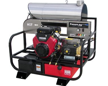 Pressure Pro 5.5 GPM 3500PSI Hot Power Washer Skid 6012PRO-20G-V