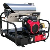 Pressure Pro 18Hp 5.5 GPM, 3500 PSI 20HP Belt Drive Hot Water Skid 6012Pro-20G-V Power Washer