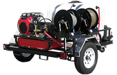 Pressure Pro TRHDCV8030HG Cold Water Pressure Wash Trailer with Honda GX630 and General Pump delivers 8.0 GPM @ 3000 PSI