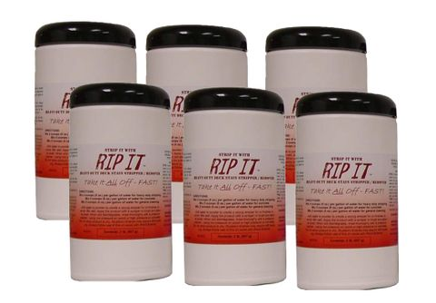 Rip-It?  Deck Stain Remover 6 pack