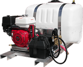 Truck Mount Pressure Wash Systems, 3 GPM Cold Water TS/D3027HG432 3.0 GPM 2700 PSI GX200 Honda