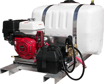 Truck Mount Pressure Wash Systems, Cold Water TS/D4040HA431 4.0 GPM 4000 PSI GX390 Honda