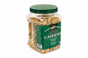 Superior Nut Fancy Salted Roasted Cashews, 30 oz