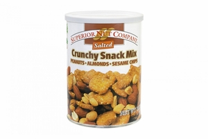 Superior Nut Salted Crunchy Snack Mixed Nuts (2 Pack)