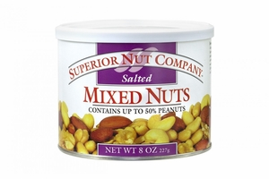 Superior Nut Salted Mixed Nuts (12 Pack)