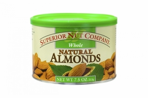 Superior Nut Whole Natural Almonds (12 Pack)