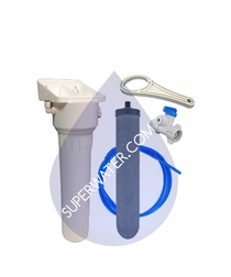 CERACARB-UCKIT-FCT-502-CH / Aquacera CeraCarb Undercounter Drinking Water System w/ Chrome Faucet