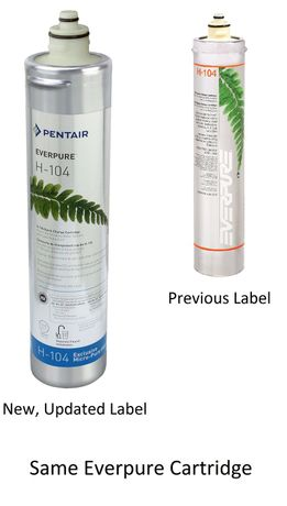 EV9612-16 Pentair Everpure H-104 Water Filter Cartridge # EV961216