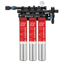 EV9761-13 Pentair Everpure QC7I Triple-XCLM+ Chloramine Reduction System # EV976113