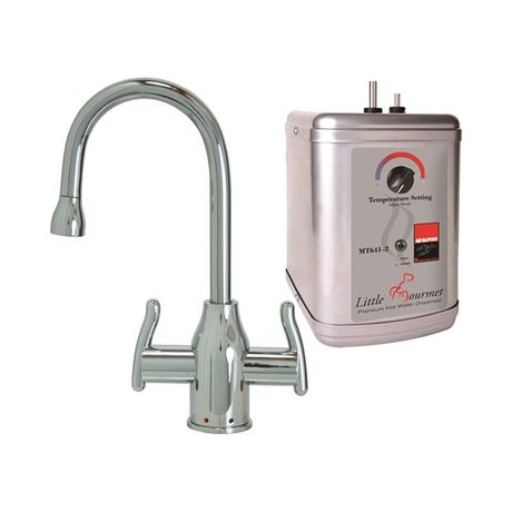 Mountain Plumbing MT1801DIY-NL/PVDPN Hot/Cold POLISHED NICKEL Modern Curved System