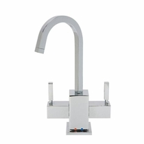 MT1501-NL Mountain Plumbing Contemporary HOT/COLD Square Body and Handles Faucets