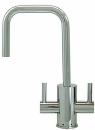MT1831-NL Mountain Plumbing Francis Anthony Contemporary HOT/COLD Round Body and Handles Faucets
