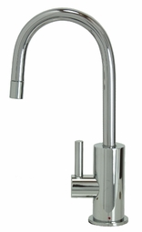 MT1840-NL Mountain Plumbing Francis Anthony HOT Water Faucets with Contemporary Round Body & Handle