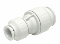 "PEI062820 / John Guest 3/4"" � 1/2"" CTS Reducing Union (White Polypropylene)"