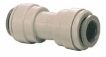 "PI0408S / John Guest 1/4"" (OD) Straight Union Connector (Acetal)"