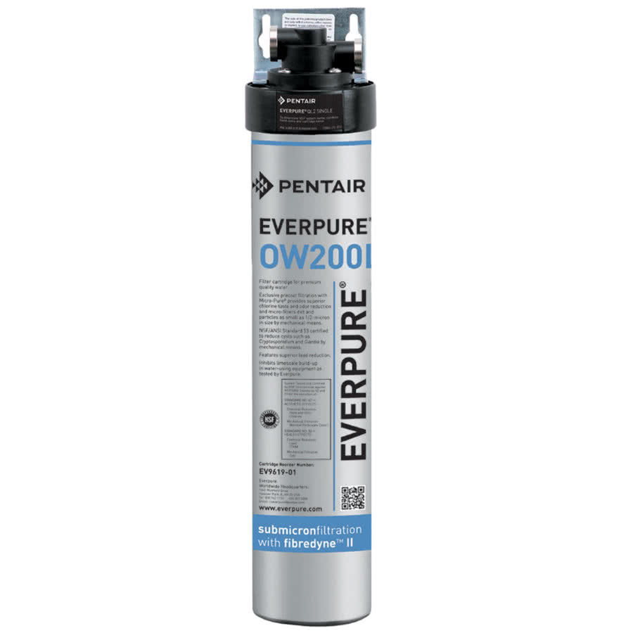 QL2-OW200L Pentair Everpure # EV9275-70 Water Filtration System