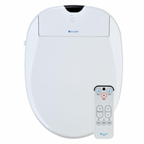 Brondell Swash S900-EW Elongated White Bidet Toilet Seat