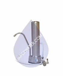 W9332320  AquaCera HCS-CC Stainless Steel Countertop Ceramic Drinking Water Filter System With Ceracarb